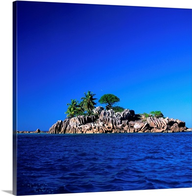 Seychelles, Praslin, Curieuse Marine National Park, St. Pierre Island