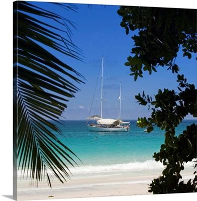 Seychelles, Praslin Island, Anse Lazio