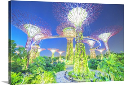 Singapore City, Gardens by the Bay conservatory complex