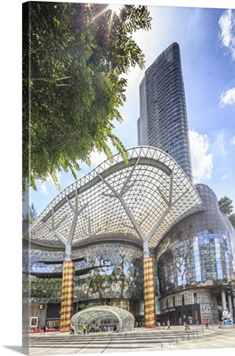 Singapore City, ION shopping mall at Orchard Road