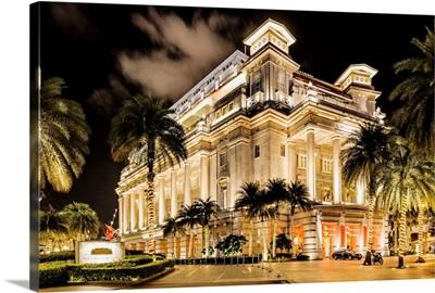 Singapore, Singapore City, Fullerton Hotel, Marina Bay