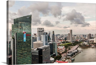 Singapore, Singapore City, Marina Bay