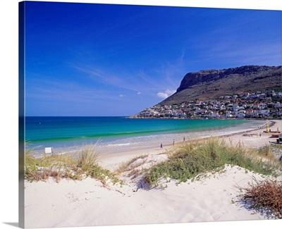 South Africa, Cape Peninsula, Fish Hoek beach