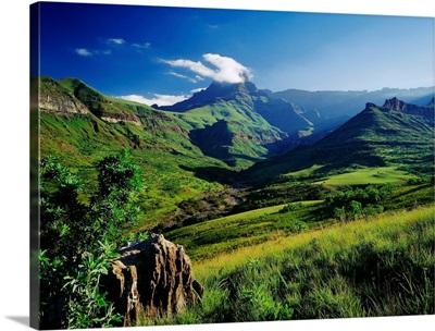 South Africa, Durban, Drakensberg region, Royal Natal national park