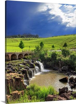South Africa, Kwazulu Natal, Caversham Mill Falls, Midlands Area