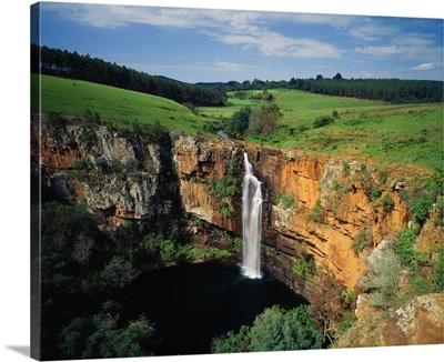 South Africa, Mpumalanga, Drakensberg region, Berlin Falls