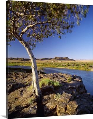 South Africa, Namaqualand, Orange River near border with Namibia