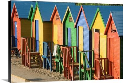 South Africa, Western Cape, False Bay, St. James Beach