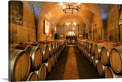 South Africa, Western Cape, Franschhoek, Winelands, Haute Cabriere cellar