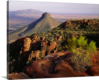 South Africa, Western Cape, Spandau Kop Mount in the Karoo plateau