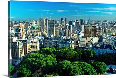 South America, Argentina, Buenos Aires, Cityscape