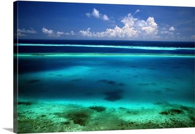 South America, Venezuela, Islas Los Roques, Gran Barrera Arrecifal del Este (coral reef)
