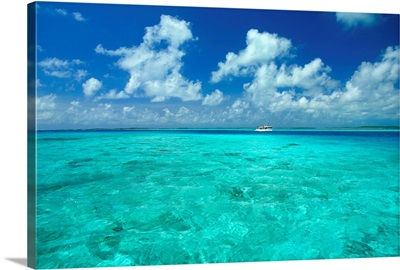 South America, Venezuela, Islas Los Roques, Lagoon