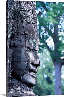 Southeast Asia, Cambodia, Angkor, Bayon Temple