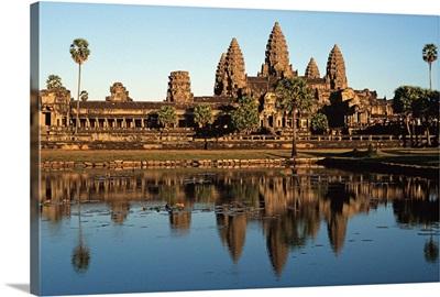 Southeast Asia, Cambodia, Kampuchea, Angkor Wat temple