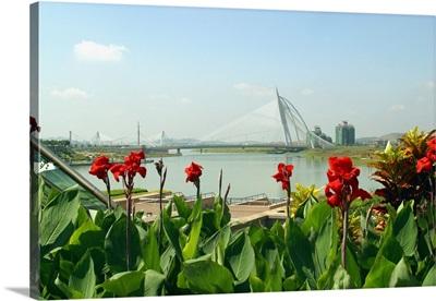 Southeast Asia, Malaysia, Puku, Putrajaya town, bridge