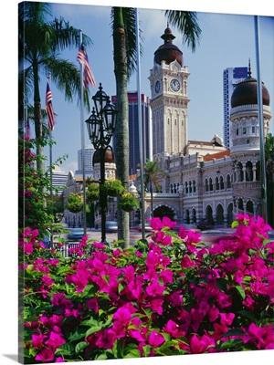 Southeast Asia, Malaysia, Selangor, Kuala Lumpur, Sultan Abdul Samad Building