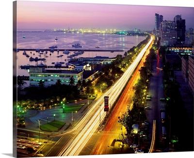 Southeast Asia, Philippines, Luzon, Roxas Boulevard