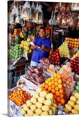 Southeast Asia, Philippines, Palawan, Fruit market