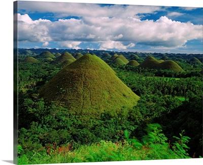 Southeast Asia, Philippines, Visayas, Chocolate Hills