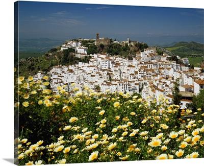 Spain, Andalucia, Costa del Sol, Pueblos Blancos, Casares town