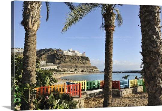 Spain, Canary Islands, Las Palmas district, Gran Canaria, Puerto ...
