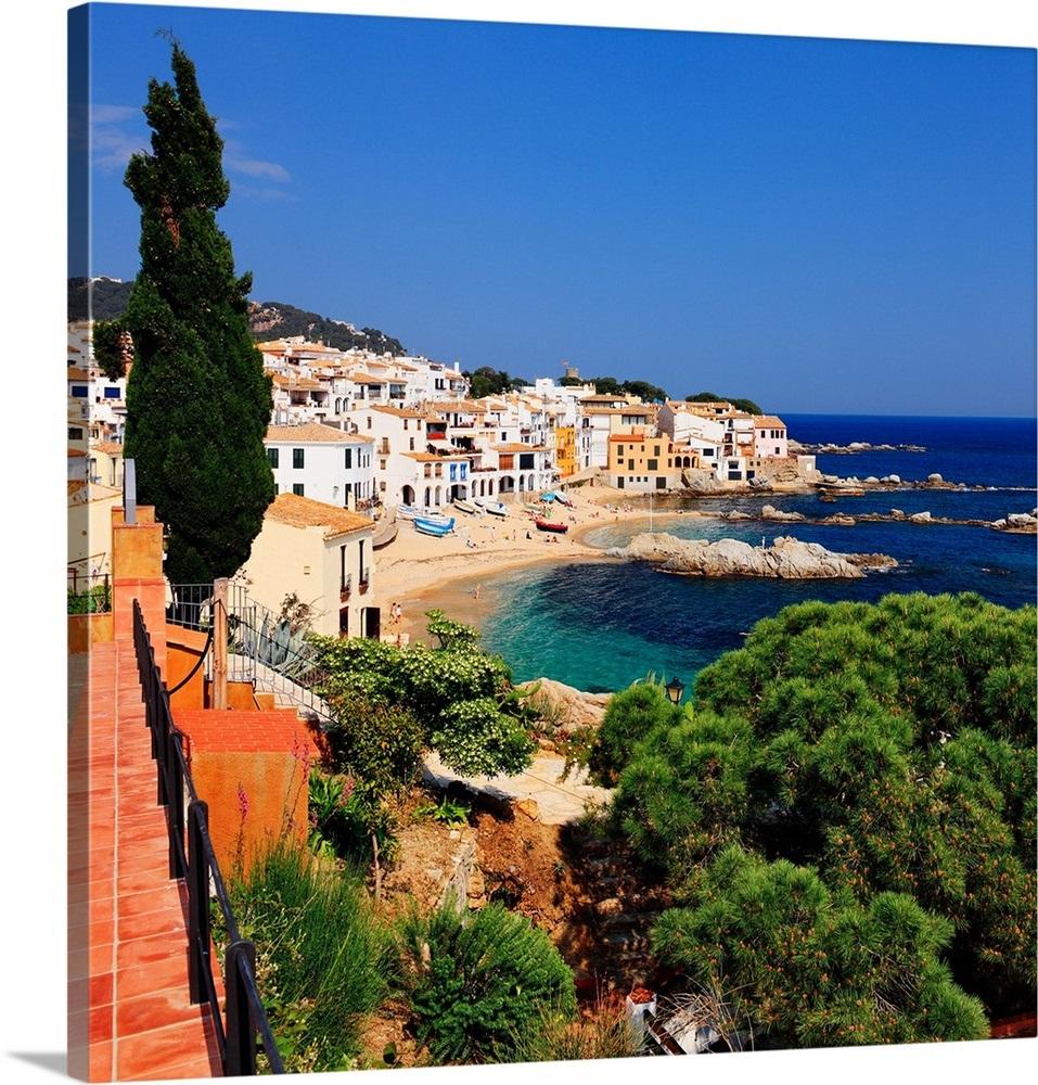 Spain Catalonia Girona District Costa Brava Calella De
