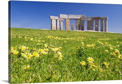 Spain, Galicia, A Coruna, Torre de Hercules area, Archeological Park