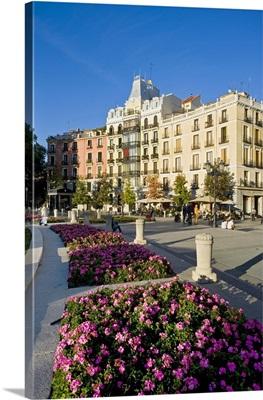 Spain, Madrid, Plaza de Oriente, Mediterranean area, Madrid district