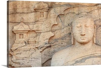 Sri Lanka, North Central Province, Polonnaruwa, Rankoth Vihara Temple