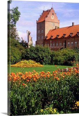 Sweden, Skane, Oresund, Kristianstad, Backaskog castle and garden