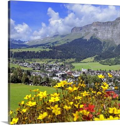 Switzerland, Graubunden, Alps, Central Europe, Flims