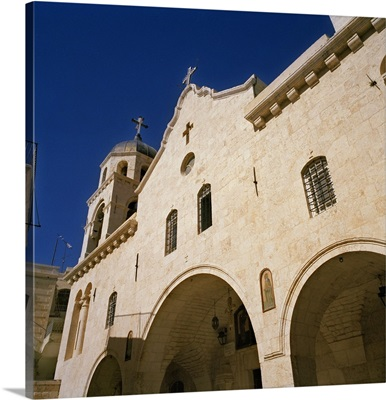 Syria, Middle East, The Greek Orthodox Convent of Our Lady of Seidnaya