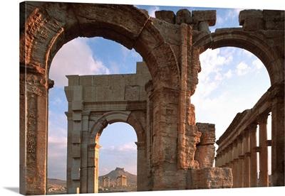 Syria, Palmira, Monumental Arch