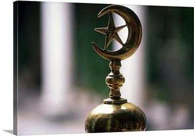Syria, Syria, Damascus, Star and crescent, Islamic symbol