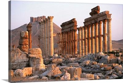Syria, Syria, Palmyra, Old ruins