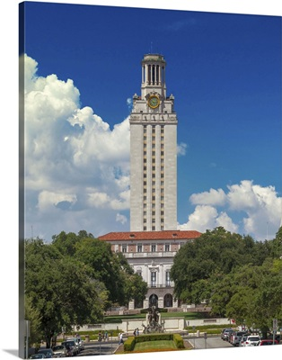 Texas, Austin, University of Texas at Austin, The Tower on the south mall
