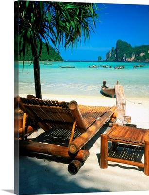 Thailand, Andaman Sea, Phi Phi Lay Island, Ao Loh Dalum