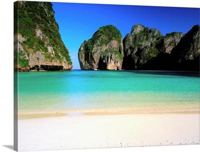 Thailand, Krabi, Phi Phi Lay, Andaman sea, Maya Bay
