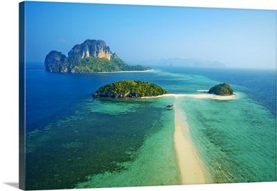 Thailand, Southern Thailand, Krabi, Ko Tub and ko Poda Island