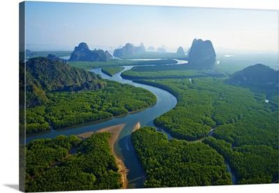 Thailand, Southern Thailand, Phang Nga, Ao Phang Nga National park