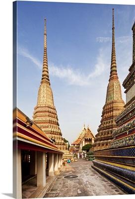 Thailand, Thailand Central, Bangkok, Wat Pho, Temple of the Reclining Buddha