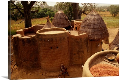 Togo, Taberma Valley, fortified house
