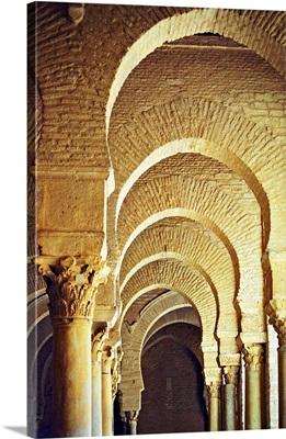 Tunisia, Al Qayrawan, Kairouan, Great Mosque of Kairouanl