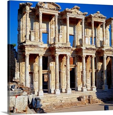 Turkey, Asia Minor, Izmir, Ephesus, Celsus Library