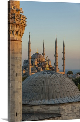 Turkey, Istanbul, Blue Mosque, Sultan Ahmed Mosque