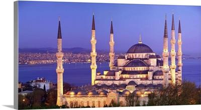 Turkey, Istanbul, Blue Mosque, Sultan Ahmet Mosque