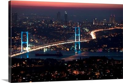 Turkey, Marmara, Bosphorus, Istanbul, Bosphorus Bridge