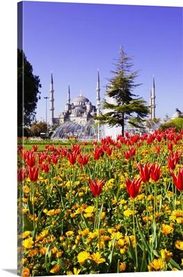 Turkey, Marmara, Istanbul, Blue Mosque, Sultan Ahmet Mosque