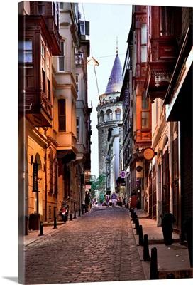Turkey, Marmara, Istanbul, Galata Tower